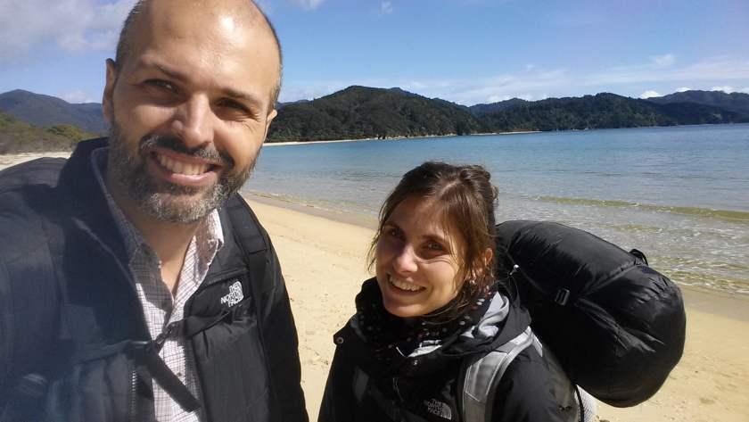 Nell'Abel Tasman, in Nuova Zelanda