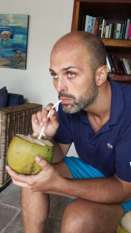 Pausa col cocco
