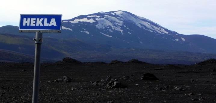 Il vulcano Hekla, Islanda