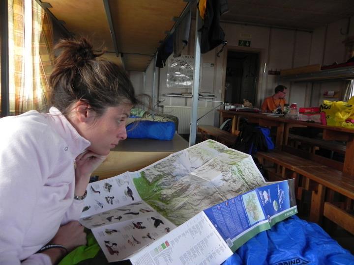 Studiando la mappa