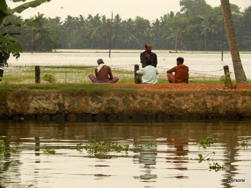 Le backwaters del Kerala