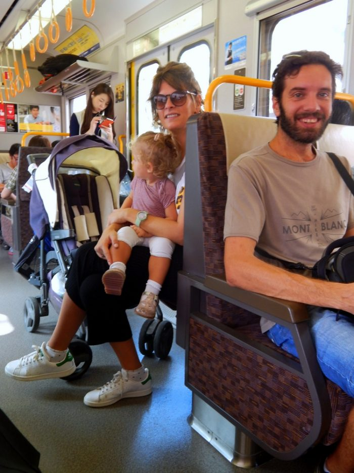 Giappone con bambini: in treno verso Nara