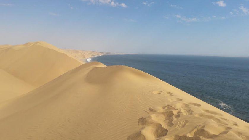 Le dune a Sandwich Harbour