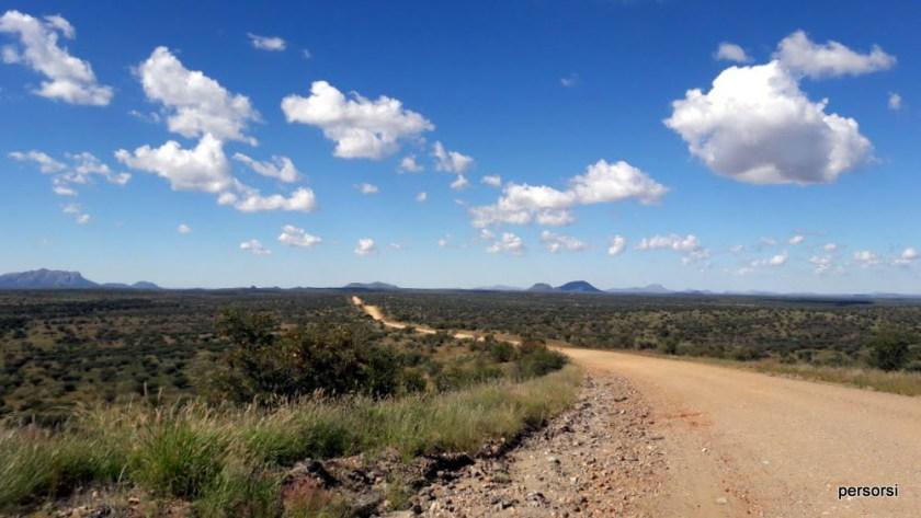 strade della Namibia