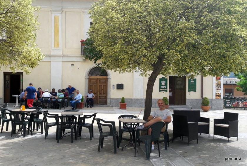 La piazza di Stilo
