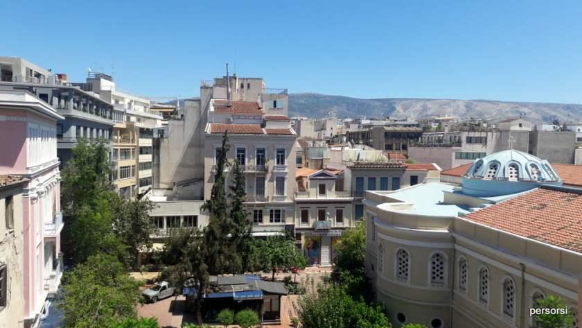 Una piazza di Atene, Plaka