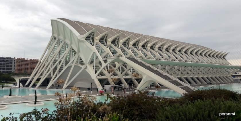 Tre giorni a Valencia, la Città della scienza