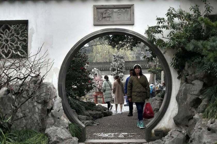 Shanghai - giardino del mandarino Yu