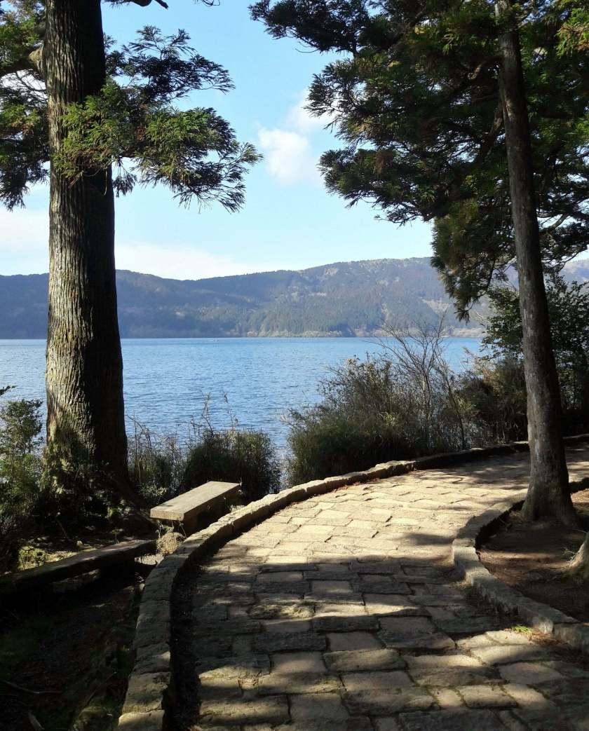 Il lago di Hakone