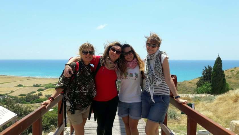 A Cipro, cinque settimane