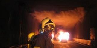 Fuego en túnel - Tunfec