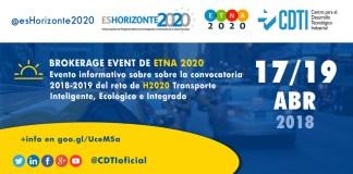 Brokerage Event de ETNA2020