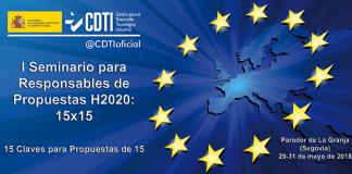 Seminario para responsables de propuestas H2020