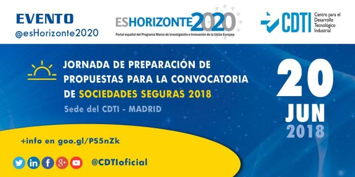 Jornada H2020 Sociedades Seguras