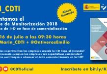 Informe de monitorización CDTI 2018 Proyectos de investigación y desarrollo en fase de comercialización