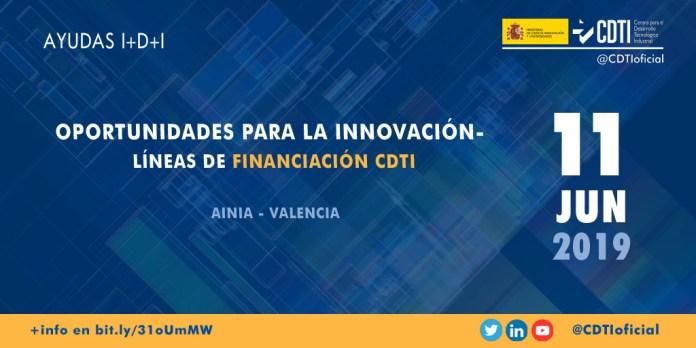 Presentación en Valencia de las ayudas CDTI