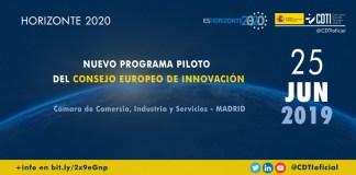 Presentación programa piloto EIC