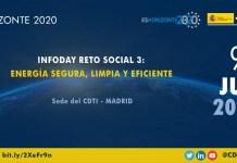Infoday H2020 sobre energía segura, limpia y eficiente