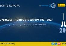 Presentación Horizonte Europa en Mondragón