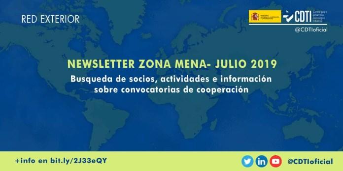 Newsletter innovación tecnología en zona MENA