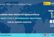 Cooperación tecnológica con el Sudeste Asiático en Smart Cities y enfermedades infecciones