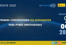 Convocatoria EICAccelerator para pymes innovadoras