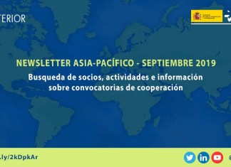 Newsletter Asia-Pacífico septiembre 2019