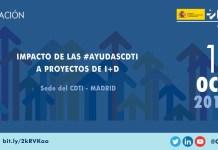presentación impacto ayudas CDTI a proyectos de I+D