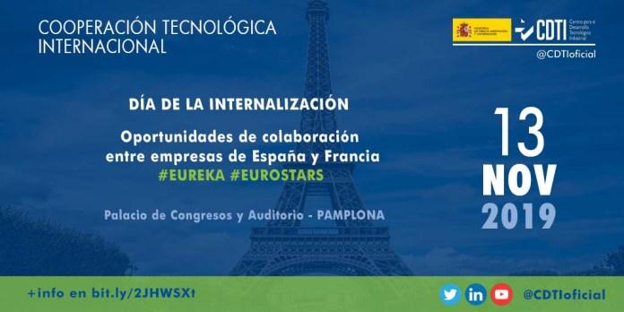 evento cooperación tecnológico con Francia en Pamplona