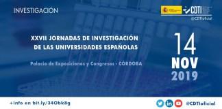 jornadas de investigación de las universidades españolas en córdoba