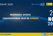 webinario h2020 espacio