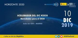evento acelerador EIC convocatoria 2020