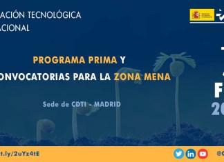 presentación programa PRIMA zona MENA