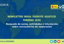 Newsletter India Sudeste Asiatico
