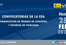 La ESA lanza dos nuevas convocatorias