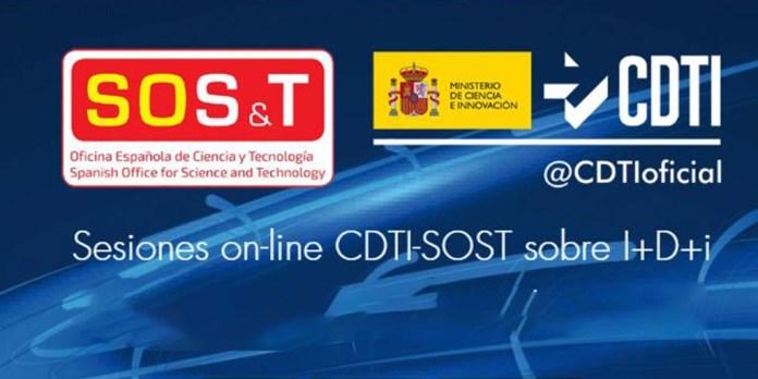 sesiones online SOST CDTI