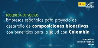 busqueda socios colombia composiciones bioactivas