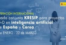 Llamada conjunta KRESIP España Corea en inteligencia artificial