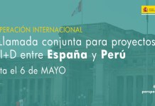 llamada proyectos innovación España Perú