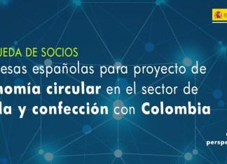 Búsqueda de socios para proyecto de economía circular en el ámbito de la moda con Colombia