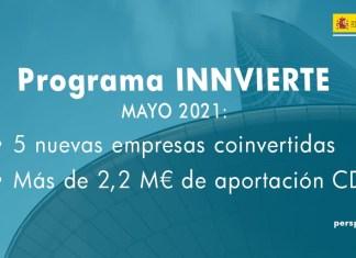 aportación innvierte mensual mayo 2021