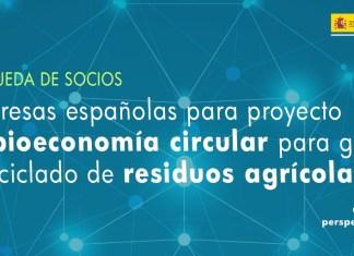 búsqueda socios bioeconomía circular India