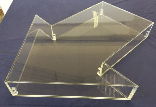 Arrow Shaped Display Case