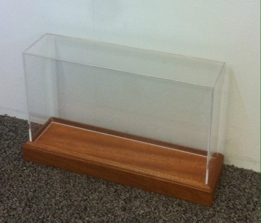 Display Cabinet for wooden plinth
