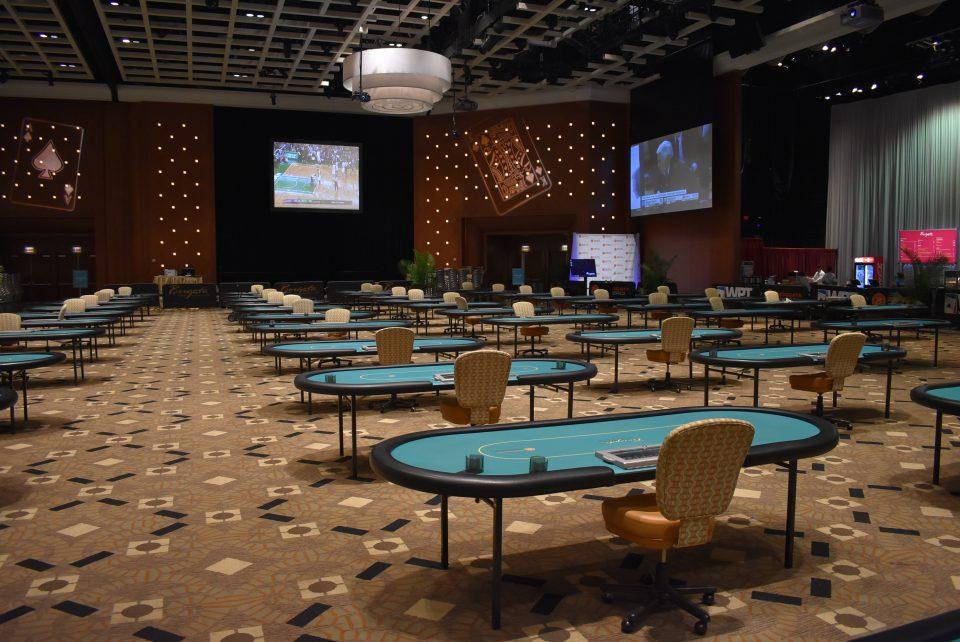 Empty event center