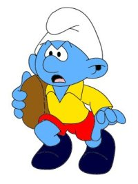 Rugby Smurf