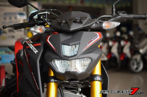 headlamp led yamaha xabre