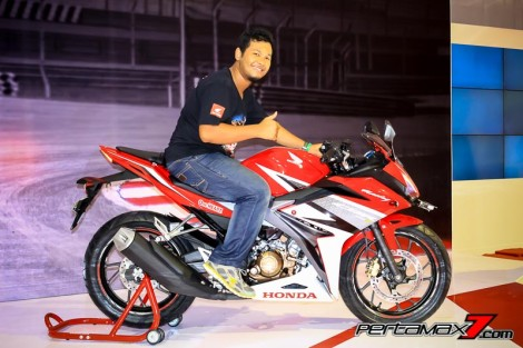 pertamax7.com naik all new honda CBR150R