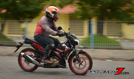 Review Testride All New Suzuki Satria F 150 Injeksi 2016 06 Pertamax7.com