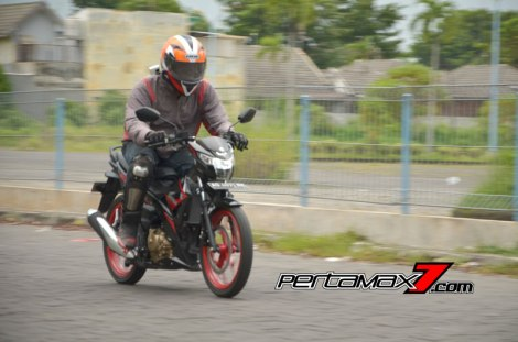 Review Testride All New Suzuki Satria F 150 Injeksi 2016 08 Pertamax7.com